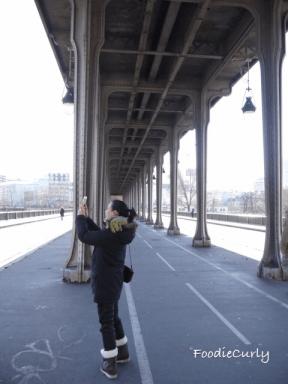鋼橋建於1905年,距今已百多年了。