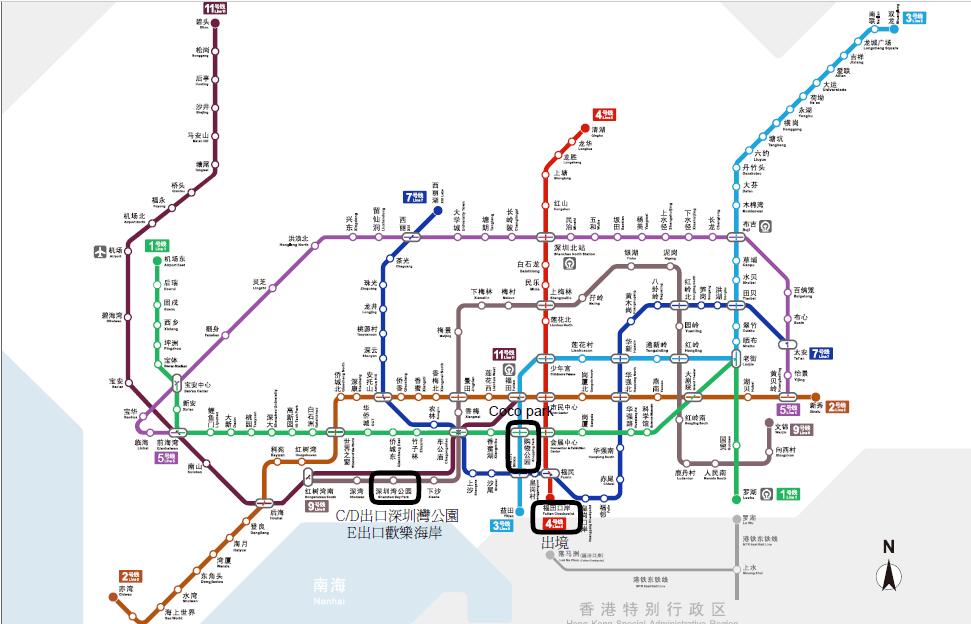 北上深圳:歡樂海岸+Coco Park | 簡單。平淡 – U Blog 博客