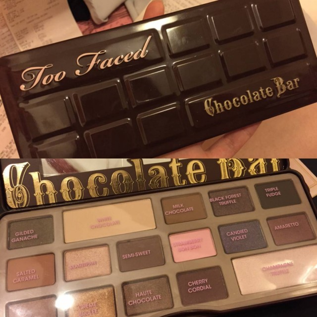 加拿大 Sephora 美妝 化妝 Too faced chocolate bar eye shadow pallette