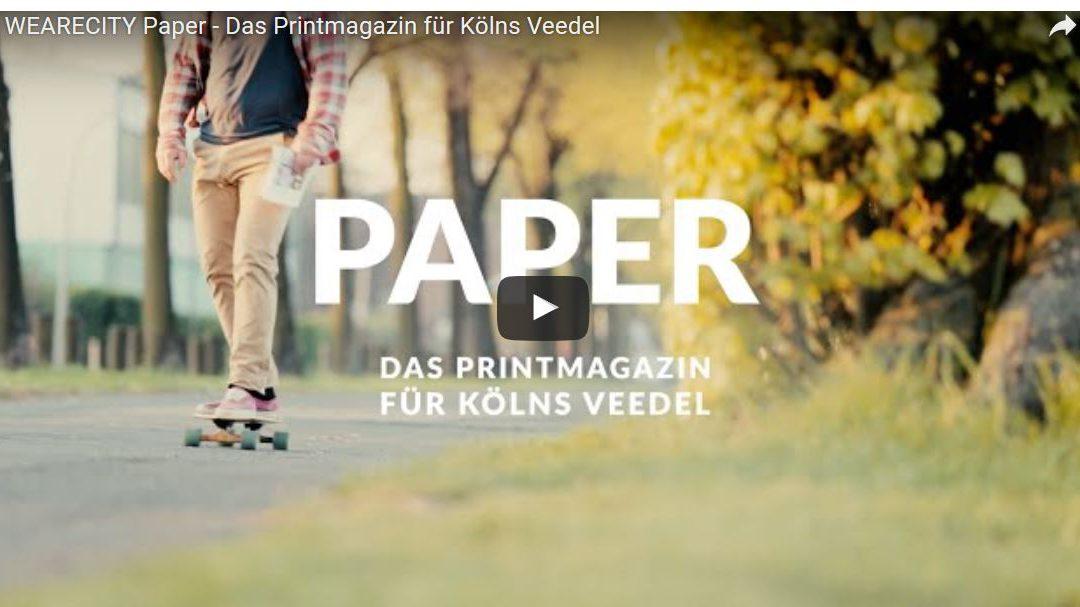 Köln ist ein Gefühl – demnächst auch ein Paper!