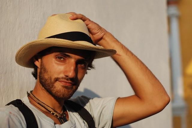 Man with Panama Hat