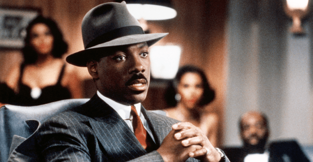 Eddie Murphy wearing Ultrafino Hat