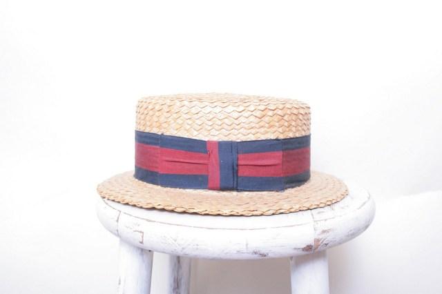 Straw Skimmer Boating Hat