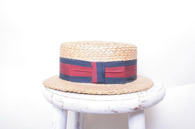 Straw Skimmer Boating Hat