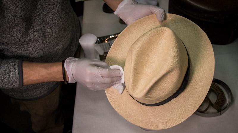 Water Repellent - Prepare your hat 2