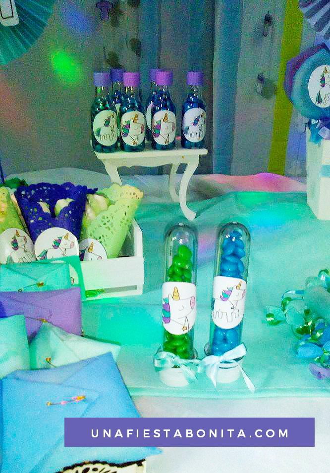 ideas para fiestas baby shower unicornios