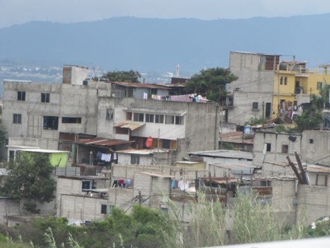 A view of Guatemala.