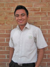 Miguel, former Guatemalan sponsored youth