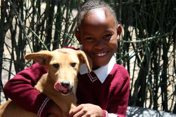 Purity, 11, from Kenya.