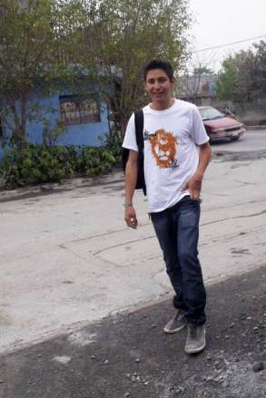 Jorge, 19, from Mexico.