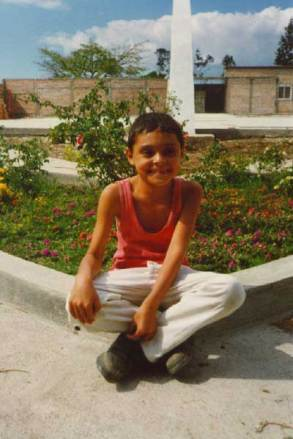 Francisco at age 10 in 1999.