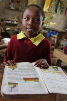 Sponsored child Caroline from Nairobi, Kenya.