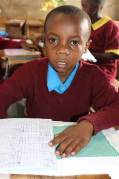 Sponsored child Stephen from Nairobi, Kenya.