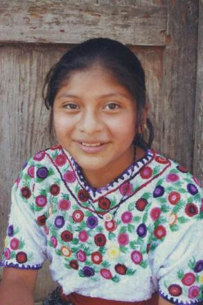 An image of Selica at the age of 12.