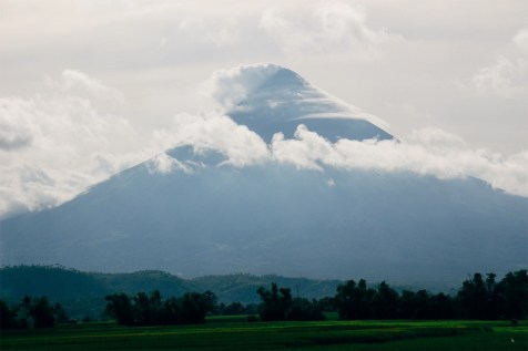 Mount Mayon, Philippines.