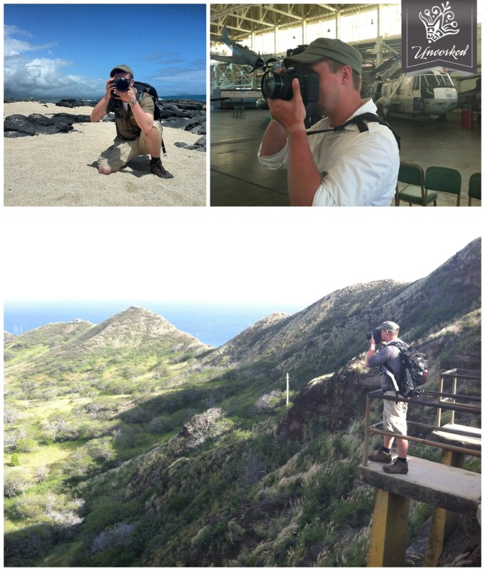 Photographing on Oahu