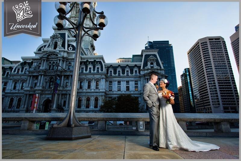 Philadelphia City Hall Wedding - Romantic Wedding Photography in Philadelphia