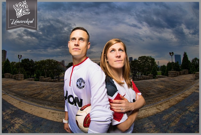Soccer Themed Engagement Session