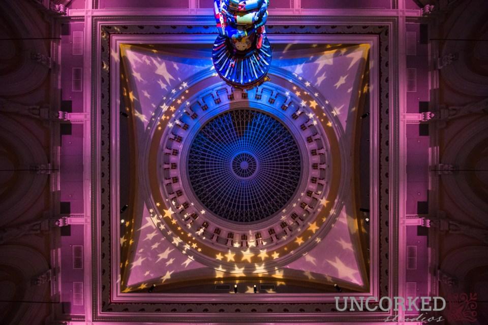 Hamilton Hall Ceiling