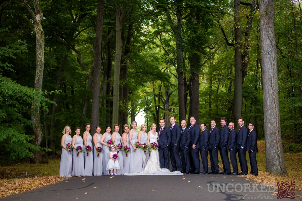 Bridal Party at Bell Voir Manor