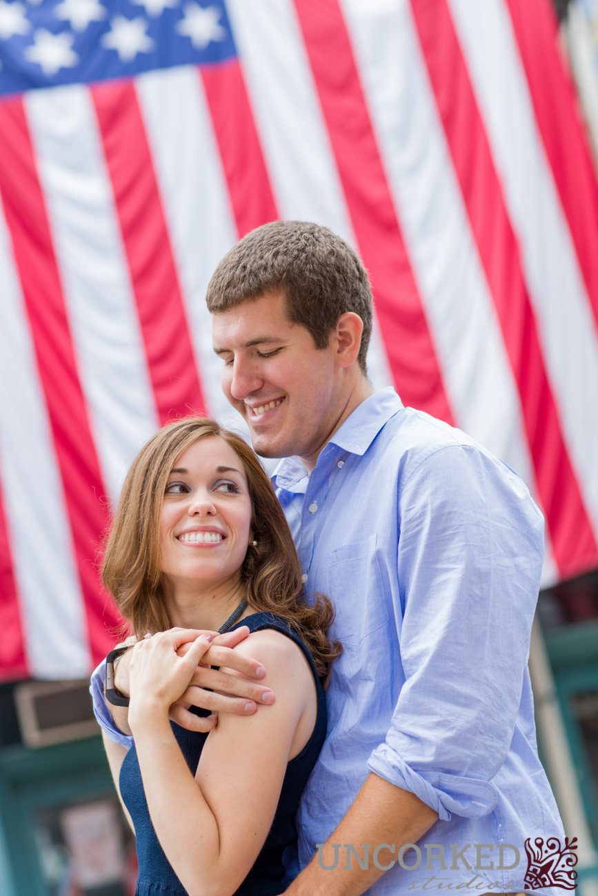 Historic Engagement Session in Philadelphia