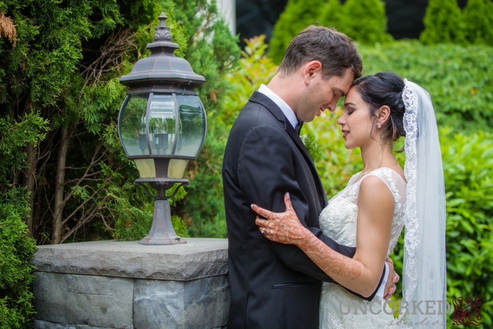 Neha & Ryan get married at Lucien's Manor