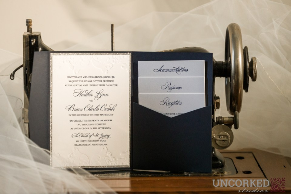 April Lynn Designs Wedding Invitation
