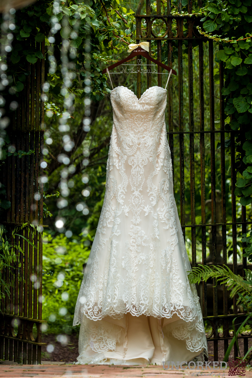 Maggie Sottero Stunning Gown at HollyHedge Estate.
