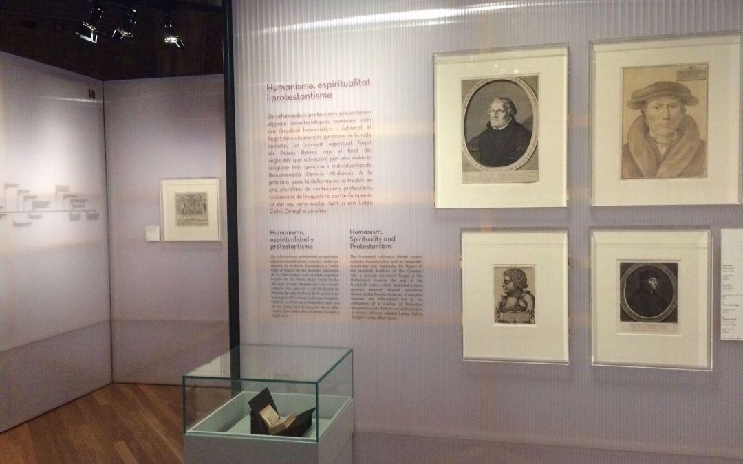 """Exposició del Museu d'Història de Barcelona """"Imatges per creure.Catòlics i protestants a Europa i Barcelona, segles XVI-XVIII."""""""