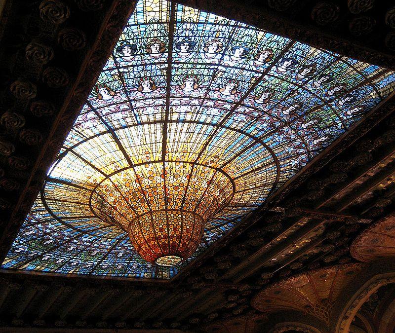 El Palau de la Música de Lluís Domènech i Montaner. Patrimoni de la Humanitat