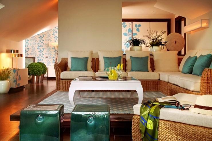 sala de estar praia