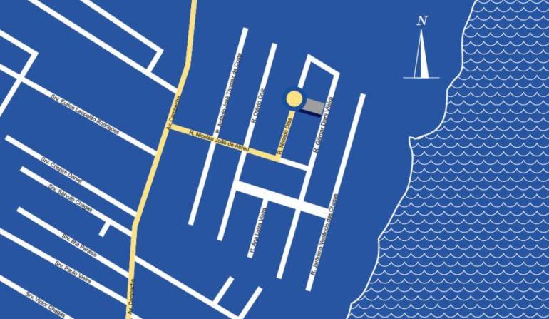 mapa seven residencial