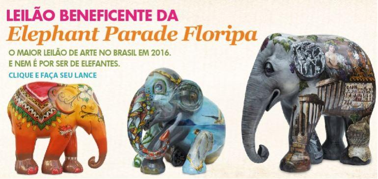 elephant parade leilao