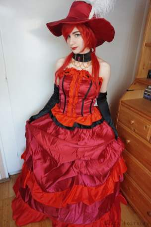 red costume front
