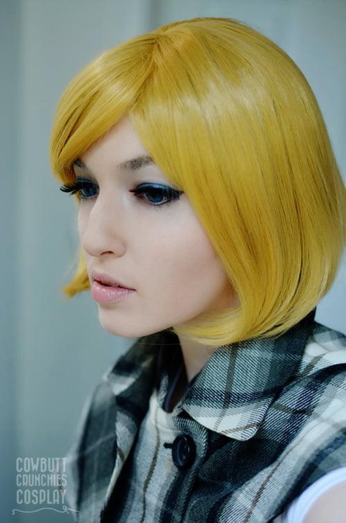 Bob wig blonde