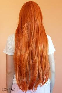 Asuka wig back