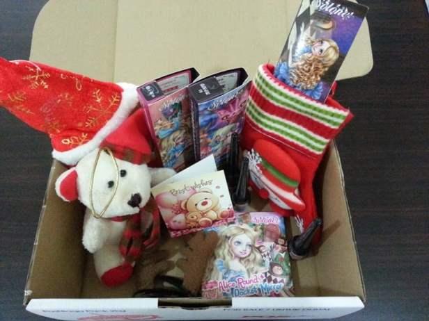 contact lenses gift box