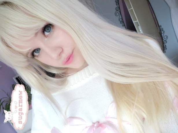 Doll contact lenses