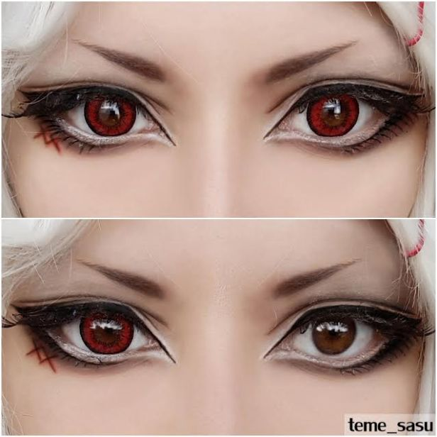 dolly red lens story eyes