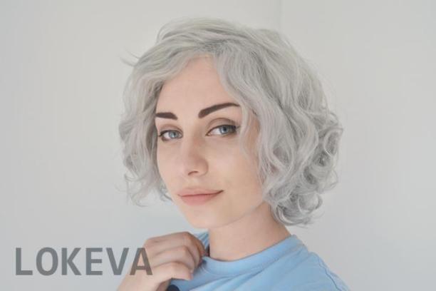 short grey wig