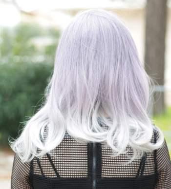 lolita wig 801A back
