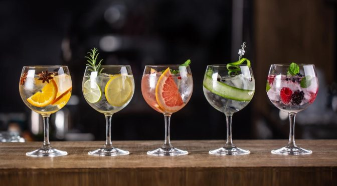 Time to get on the Scottish Gin Trail!