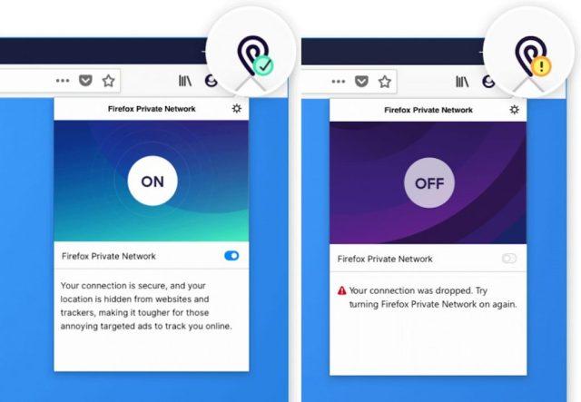 Layanan VPN Mozilla