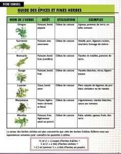 Herbes Aromatiques En Cuisine
