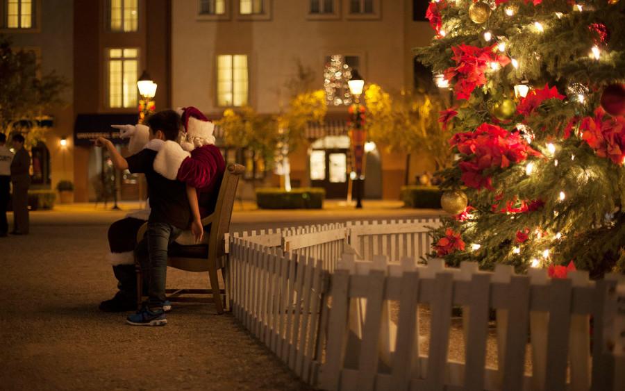 Holidays 2015, Loews Portofino Bay Hotel