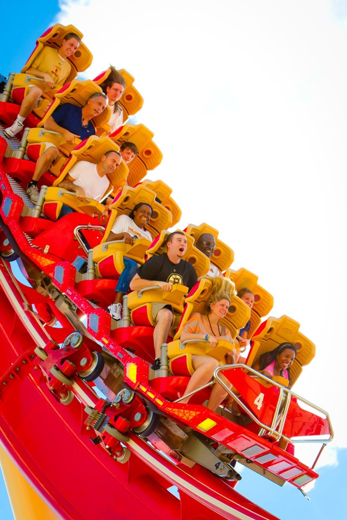 Create your own music video on Hollywood Rip Ride Rockit at Universal Orlando Resort