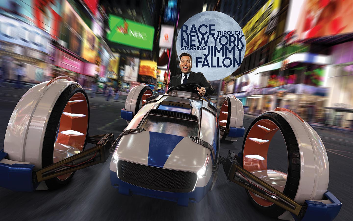 Step into 30 Rock and then it's off to the races with Jimmy Fallon.