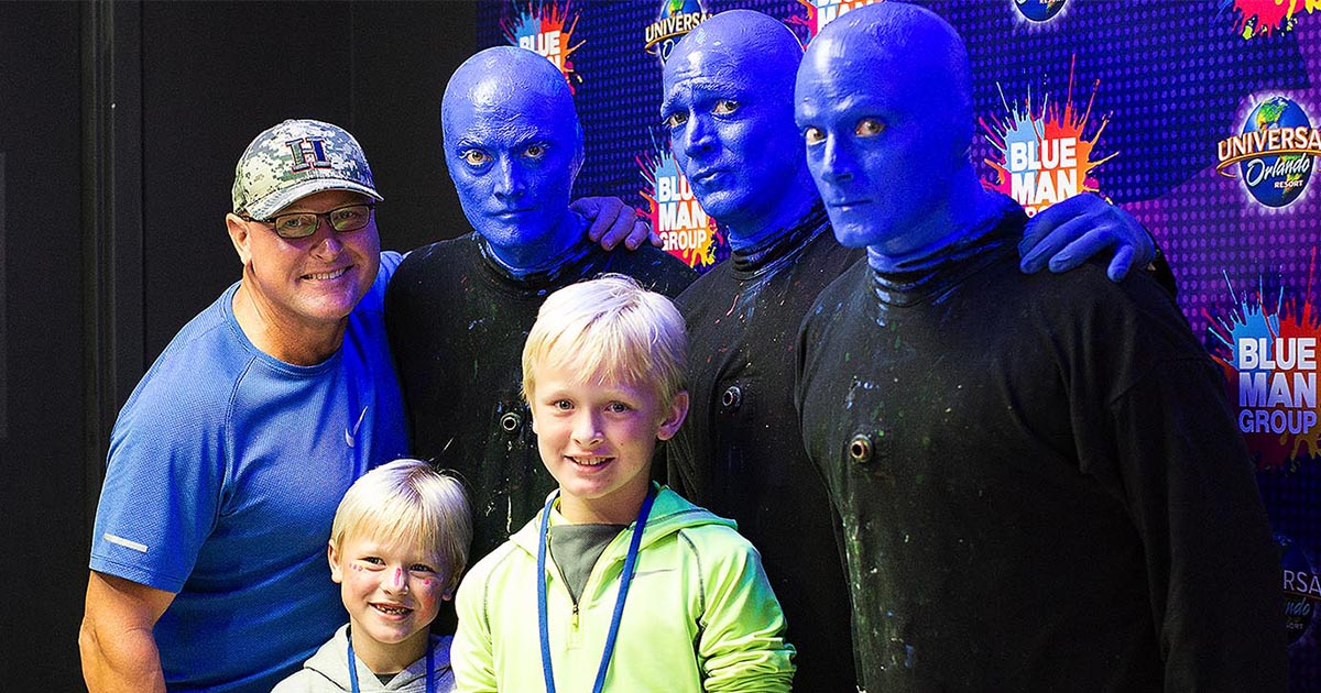 Universal Orlando Close Up  Blue Man Group Launches New VIP Experience  Close Up