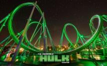 The Incredible Hulk Coaster Universal Studios Orlando