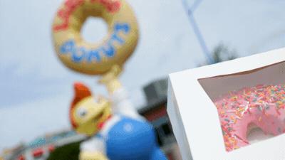 Simpson Donut at Universal Orlando Resort